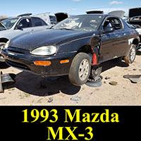 Junkyard 1992 Mazda MX-3