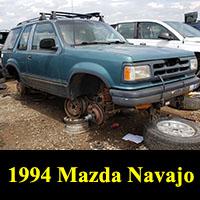 Junkyard 1994 Mazda Navajo