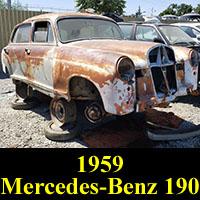 Junkyard 1959 Mercedes-Benz 190