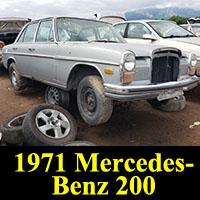 Junkyard 1971 Mercedes-Benz 200