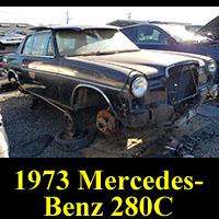 1973 Mercedes-Benz W114