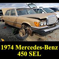Junkyard 1974 Mercedes-Benz 450SEL