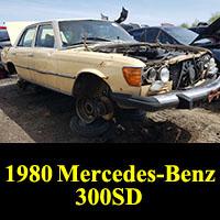 Junkyard 1980 Mercedes-Benz 300SD