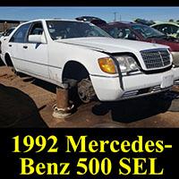 Junkyard 1992 Mercedes-Benz 500SEL