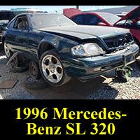 Junkyard 1996 Mercedes-Benz SL 320