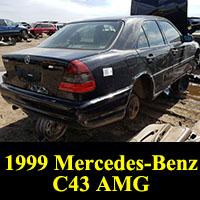 Junkyard 1999 Mercedes-Benz C43 AMG