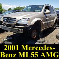 Junkyard Mercedes-Benz ML55 AMG