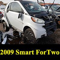 Junkyard 2009 Smart ForTwo