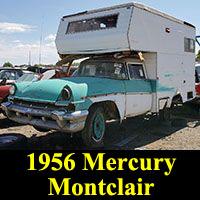 Junkyard 1956 Mercury Montclair camper