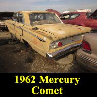 Junkyard 1962 Mercury Comet