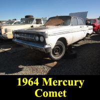 Junkyard 1964 Mercury Comet
