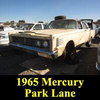 Junkyard 1965 Mercury Park Lane Breezeway