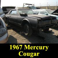 Junkyard 1967 Mercury Cougar