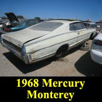 Junkyard 1968 Mercury Monterey
