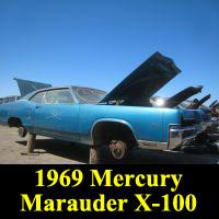 Junkyard 1969 Mercury Marauder X-100