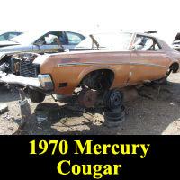 Junkyard 1970 Mercury Cougar