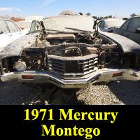 Junkyard 1971 Mercury Montego