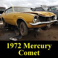 Junkyard 1972 Mercury Comet