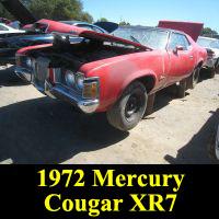 Junkyard 1972 Mercury Cougar