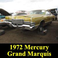 Junkyard 1972 Mercury Marquis Brougham