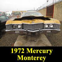 Junkyard 1972 Mercury Monterey