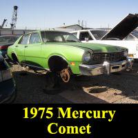 Junkyard 1975 Mercury Comet