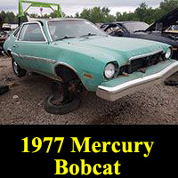 Junkyard 1977 Mercury Bobcat