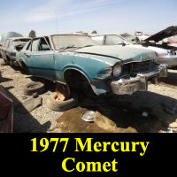 Junkyard 1977 Mercury Comet