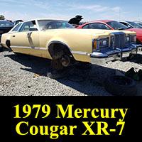 Junkyard 1979 Mercury Cougar XR-7