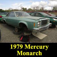 Junkyard 1979 Mercury Monarch Coupe