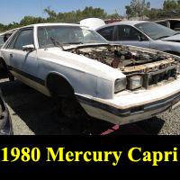 Junkyard 1980 Mercury Capri