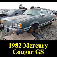 Junkyard 1982 Mercury Cougar