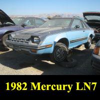 Junkyard 1982 Mercury LN7