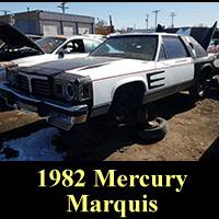 Junkyard 1982 Mercury Marquis