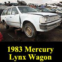 Junkyard 1983 Mercury Lynx wagon