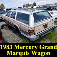 Junkyard 1983 Mercury Marquis Wagon