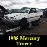 Junkyard 1988 Mercury Tracer