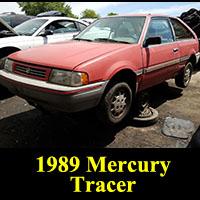 Junkyard 1989 Mercury Tracer