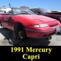 Junkyard 1991 Mercury Capri