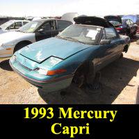 Junkyard 1993 Mercury Crapi