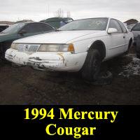 Junkyard 1994 Mercury Cougar XR7
