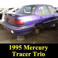 Junkyard 1995 Mercury Tracer Trio