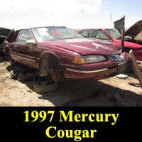 Junkyard Mercury-1997Cougar-1