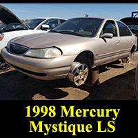 Junkyard 1998 Mercury Mystique
