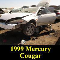 Junkyard 1999 Mercury Cougar