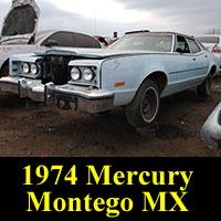 Junkyard 1974 Mercury Montego