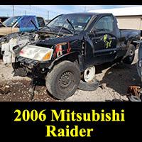 Junkyard 2006 Mitsubishi Raider