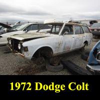 Junkyard 1972 Dodge Colt Wagon