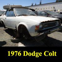 Junkyard 1976 Dodge Colt