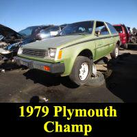 Junkyard 1979 Plymouth Champ